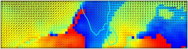 Displaying wind data | kCube
